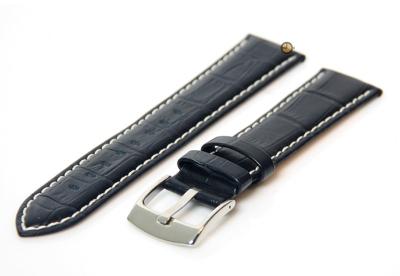 Midnight blue Uhrenarmband - 24mm Leder