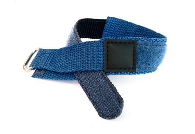 Klettband 18mm blau