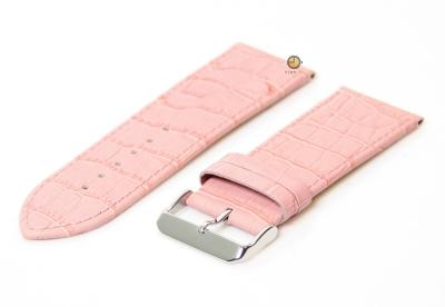 Uhrenarmband 30mm Rosa Leder