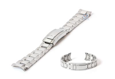 Uhrenarmband 20mm RLX Silber Stahl
