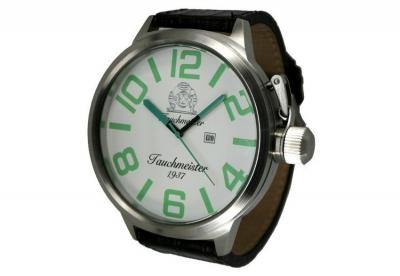 Tauchmeister Uhrenarmband 26mm Leder