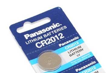 Panasonic Batterie CR2012