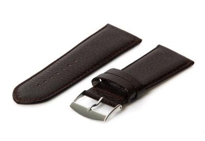 Uhrenarmband 28mm Braun Leder