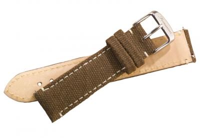 Fromanteel Uhrenarmband Leinwand Braun