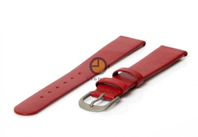 Danish Design Uhrenarmband 16mm Rot Leder