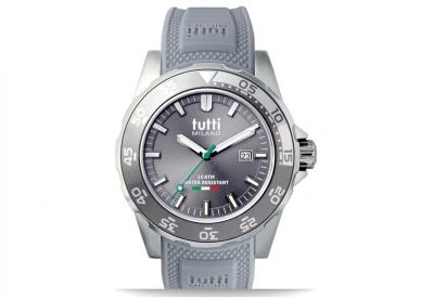 Tutti Milano Uhrenarmband Grau TM900
