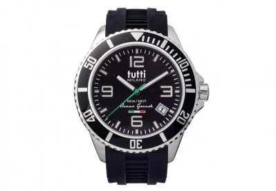 Tutti Milano Uhrenarmband Schwarz TMOG001