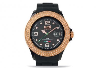 Tutti Milano Uhrenarmband Schwarz TM004-NORO