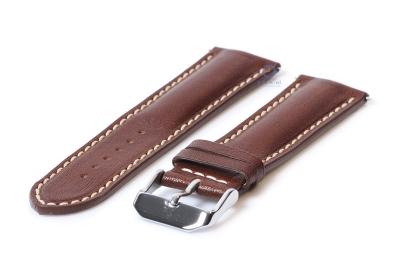 Uhrenarmband 24mm Braun Leder