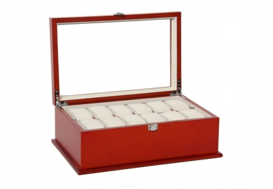 Gisoni Tollare Uhrenbox Bordeaux