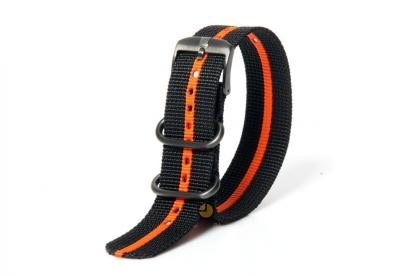 Luminox Uhrenarmband FN.3950.35 Schwarz Orange