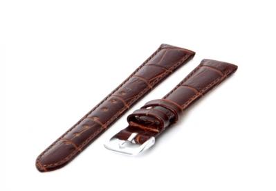 Uhrenarmband 14mm Dunkelbraun Leder
