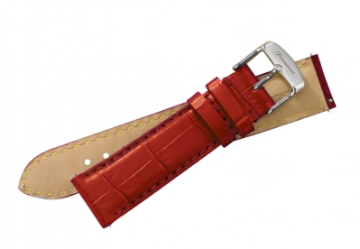 Fromanteel Uhrenarmband Rot Leder