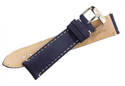 Fromanteel Uhrenarmband vintage Blau Leder