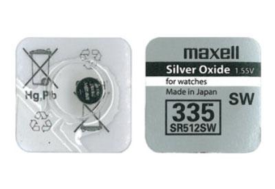 Maxell Batterie 335/SR512
