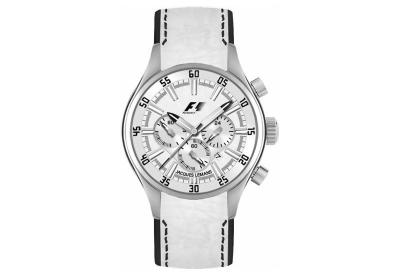 Jacques Lemans Uhrenarmband F5034W Weiß-Schwarz
