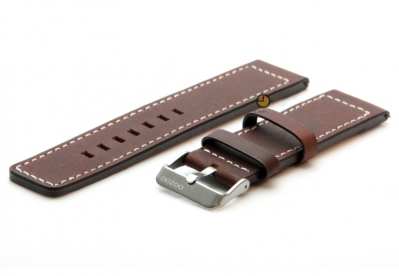 Oozoo Uhrenarmband 20mm Braun Leder