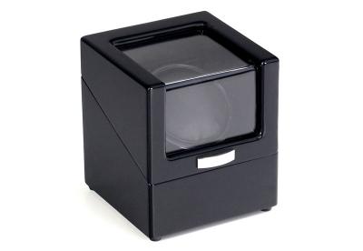 Uhrenbeweger für 1 Uhr Schwarz glänzend