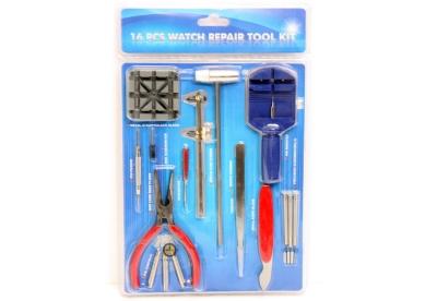 Basis Werkzeug-Set für Uhren 16-Stück