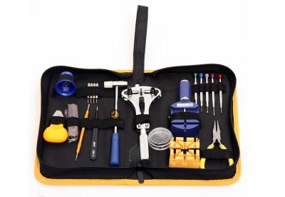 Deluxe Werkzeug-Set Etui für Uhren 33-Stück
