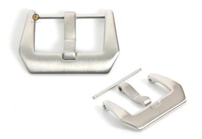 Uhrenarmband Dornschließe Panerai Modell Silber 24mm