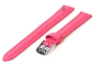 Uhrenarmband 12mm Rosa Kalbsleder