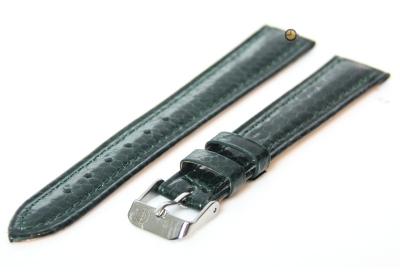 Uhrenarmband 16mm Gün echtes Schlangenleder