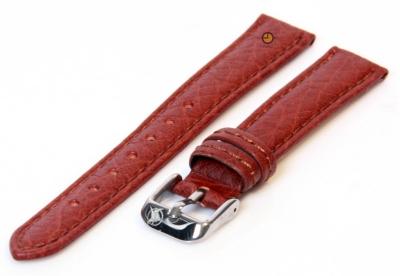 Uhrenarmband 16mm Braun Bisonleder