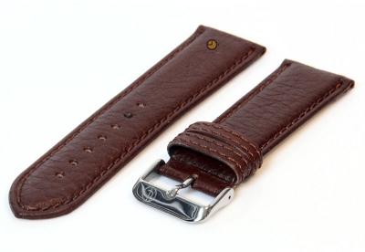 Uhrenarmband 24mm Dunkelbraun Bisonleder