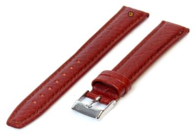 Uhrenarmband 14mm Hellbraun Büffelleder, extra lang