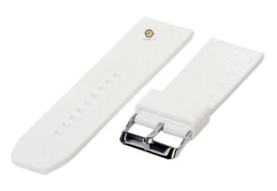 Uhrenarmband 26mm Weiß Silikon
