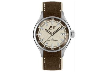 Jacques Lemans Uhrenarmband F5036F Braun