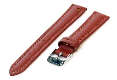 Uhrenarmband 12mm Braun Leder