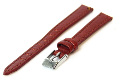 Uhrenarmband 12mm Hellbraun Büffelleder