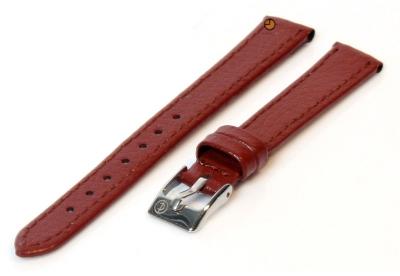 Uhrenarmband 10mm Braun Bisonleder