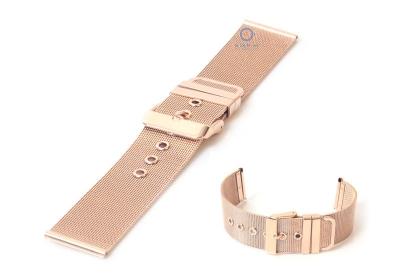 Uhrenarmband 22mm Mailänder Roségold