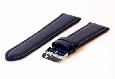 Uhrenarmband 26mm blau Leder