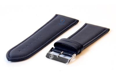 Uhrenarmband 34mm blau Leder