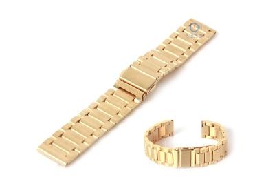 Uhrenarmband 18mm gold Stahl