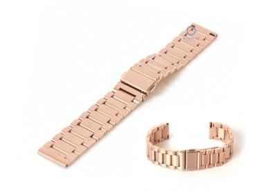 Uhrenarmband 18mm roségold Stahl