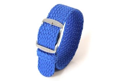 Uhrenarmband aus Nylon 20mm blau