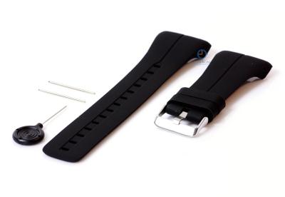 Uhrenarmband für Polar M400/M430 (schwarz)