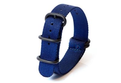 Zulu-Band 18mm blau