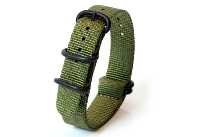 Zulu-Band 18mm grün