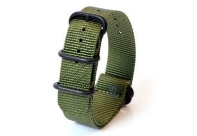Zulu-Band 22mm grün