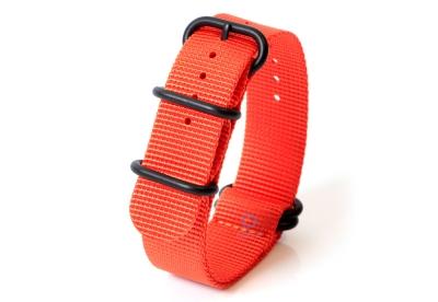 Zulu-Band 22mm orange