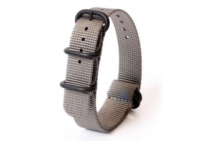 Zulu-Band 18mm grau