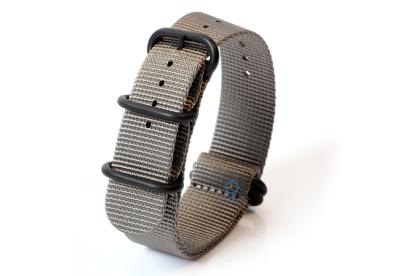Zulu-Band 22mm grau