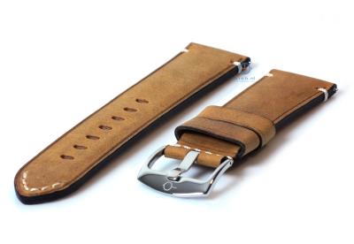 Vintage Uhrenarmband 24mm hellbraun