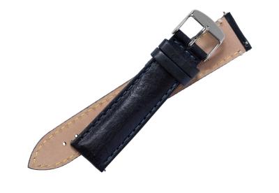 Fromanteel Uhrenarmband Leder dunkelblau